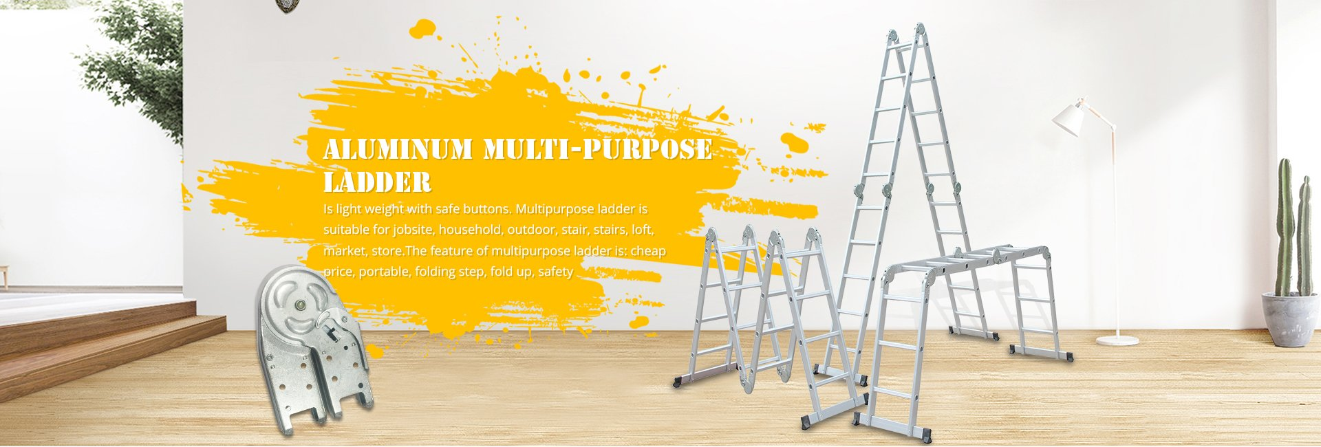 Aluminum Multi-purpose Ladder